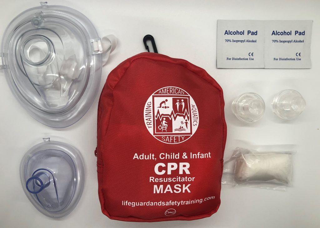 Adult & Infant CPR Mask Combo Kit